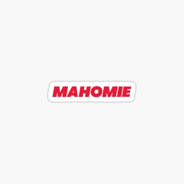 Mahomie Sticker