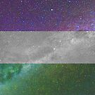 Genderqueer Galaxy Flag von Ash Tomb