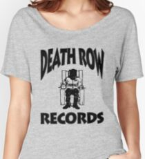 Death Row Record Women's Relaxed Fit T-Shirt