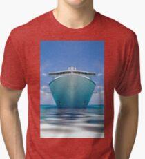 cruise ship IV Tri-blend T-Shirt
