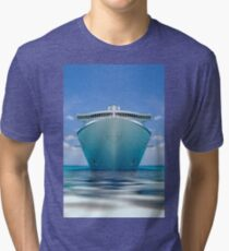 cruise ship IV Tri-blend T-Shirt