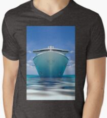 cruise ship IV Mens V-Neck T-Shirt