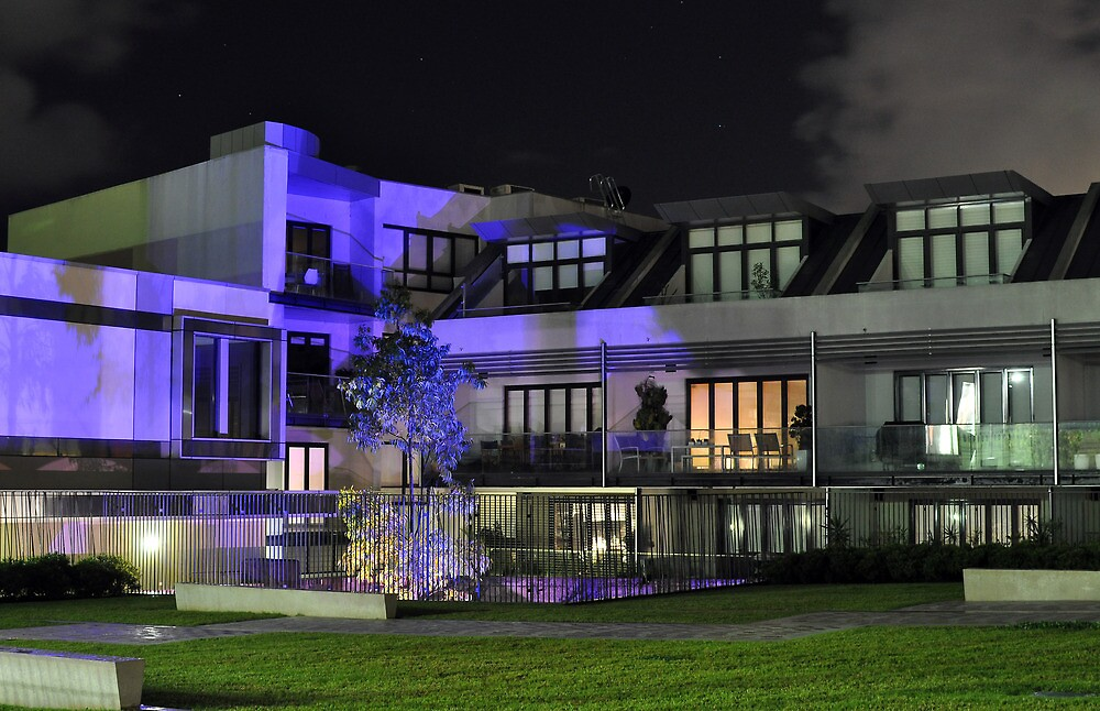 Night View Oxford Street Apartments by Jason McFarlane