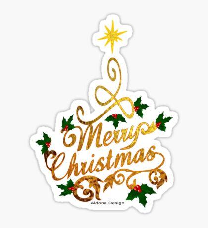 Christmas Greetings  Sticker