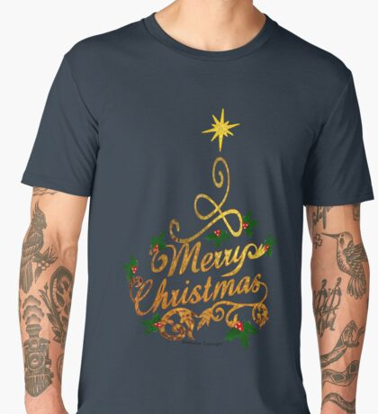 Christmas Greetings  Men's Premium T-Shirt