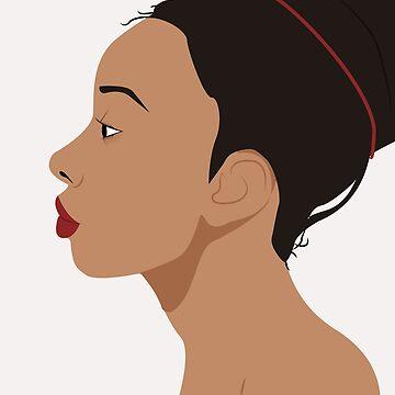 Proud black girl - 1 by imgabsveras