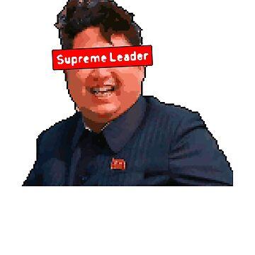Kim Jong Un | Supreme Leader - 8 Bit Pixel Art by ctaylorscs