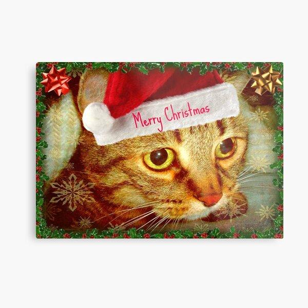 Dear Santa, this is my wish... © Metal Print