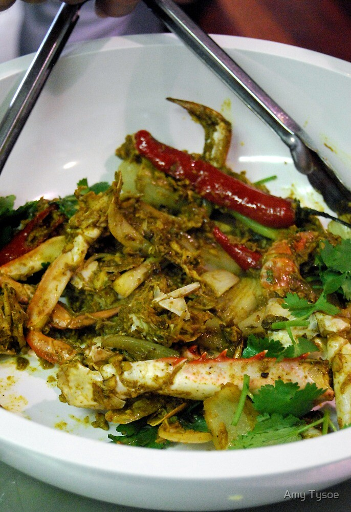 Crab Curry by Amy Tysoe