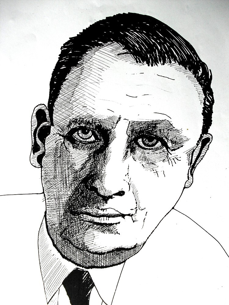 Portrait Study 26. by Richard  Tuvey