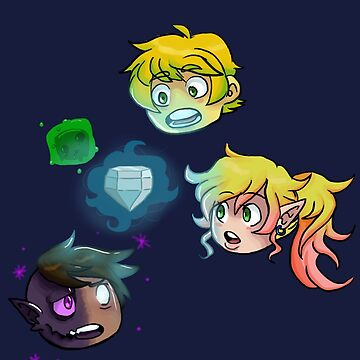 The Haunted: Chibi Heads by RejectedShotgun