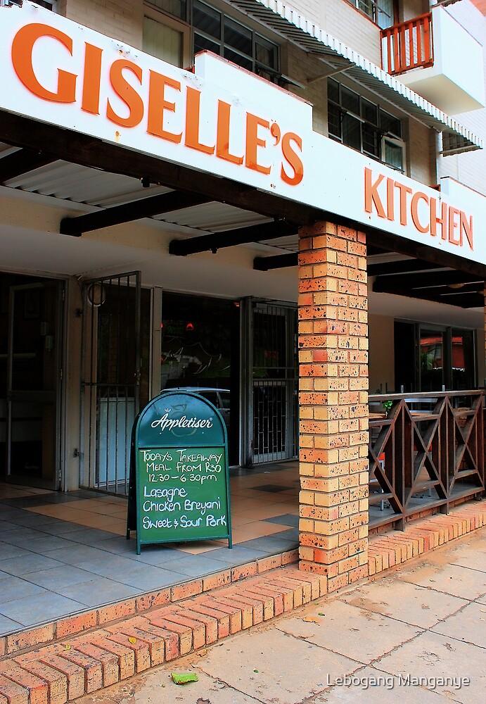 Giselle's cucina by Lebogang Manganye