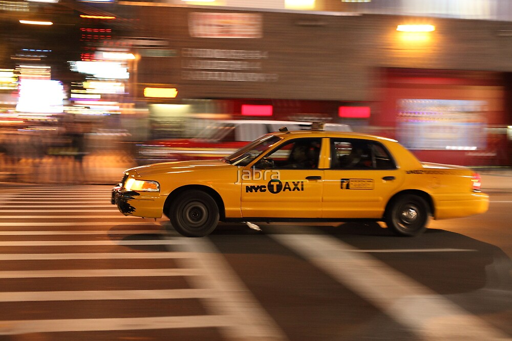 NYC Taxi New York City Cab by jabra