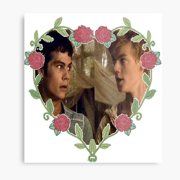 Hearted Newtmas Metal Print