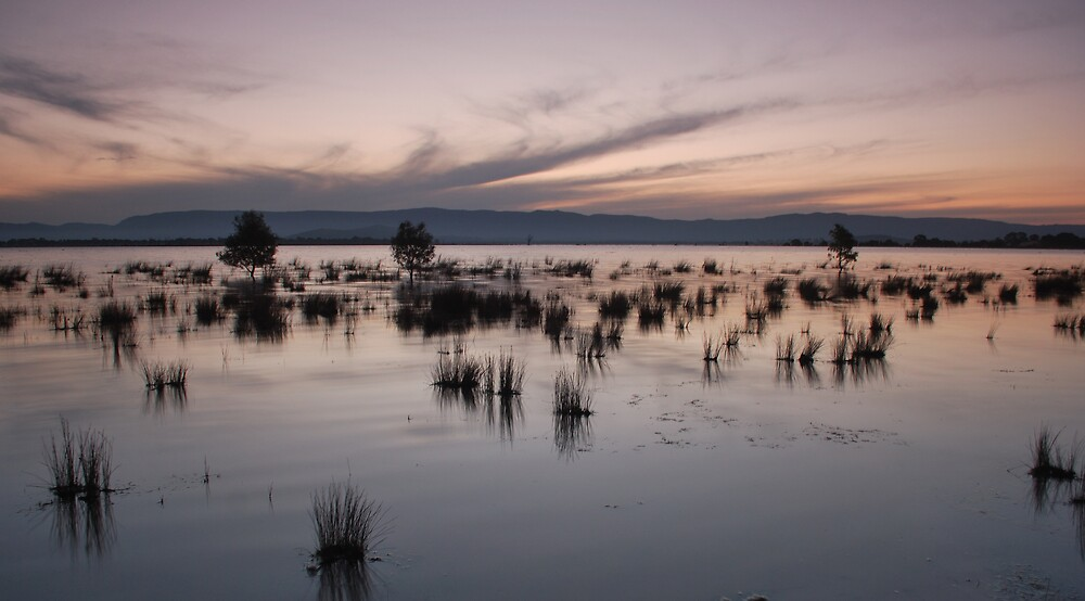 Lake Londsdale Sunset by DanielTMiller