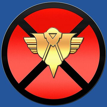 X.S.E. Xavier's Security Enforcers X Logo Badge by PissAndVinegar
