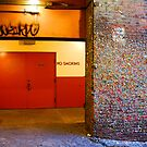 Wall of Gum by Zolton