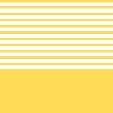 Mustard Yellow Stripes Above by rewstudio