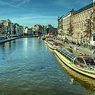 Amsterdam City Boats  by Rob Hawkins