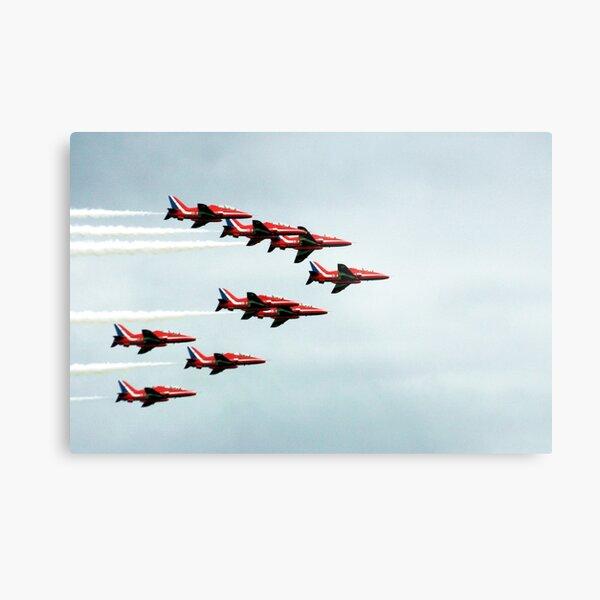 Red Arrows! Metal Print