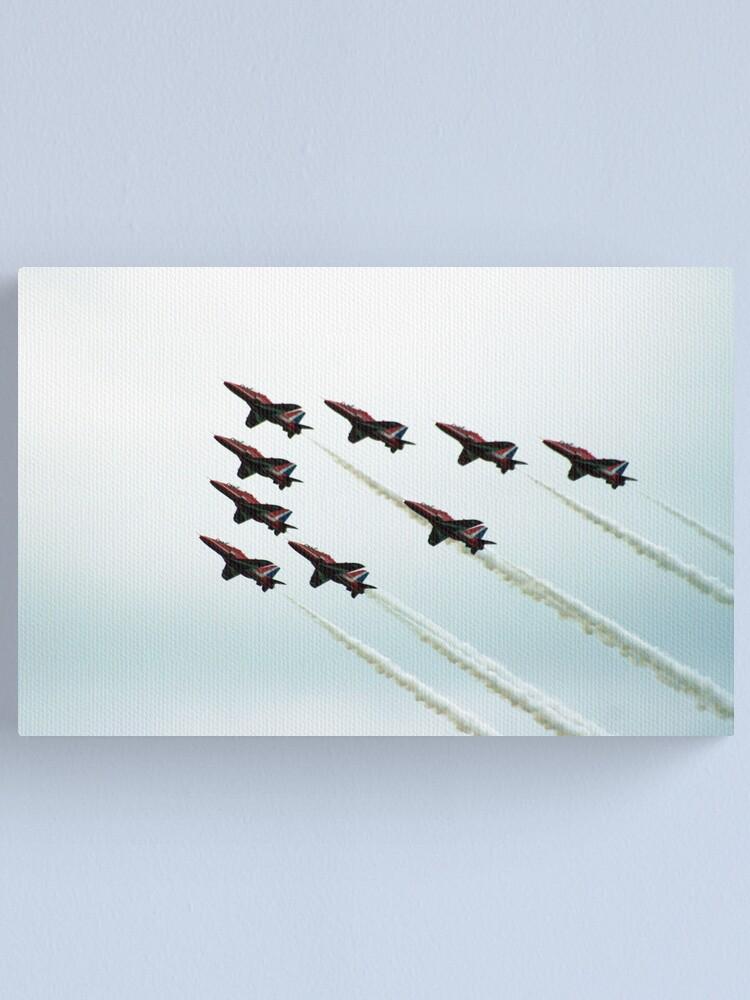 Alternate view of RAF Aerobatic Team Canvas Print