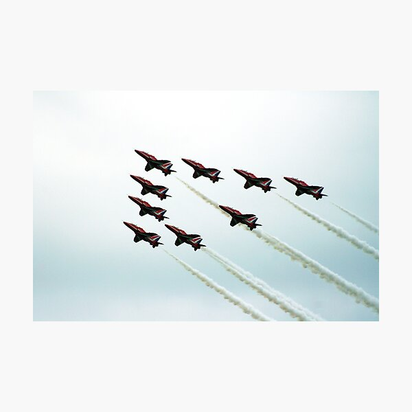 RAF Aerobatic Team Photographic Print