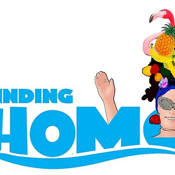 Finding Homo! Funny Gay Design by loveplasticpam