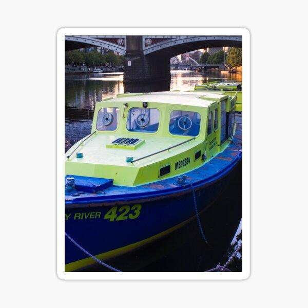 Melbourne River Boat Sticker