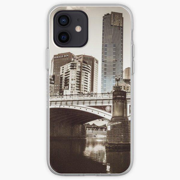 Historic Princes Bridge iPhone Soft Case
