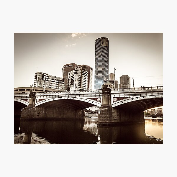 Historic Princes Bridge Photographic Print