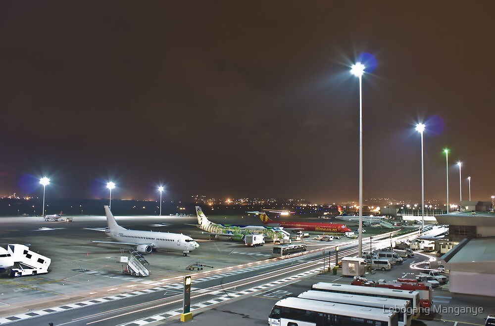 Durban International Airport by Lebogang Manganye