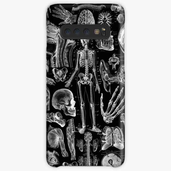 Human Anatomy Black Print Samsung Galaxy Snap Case