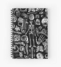 Cuaderno de espiral Anatomía Humana Black Print