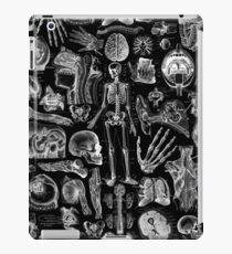 Human Anatomy Black Print iPad Case/Skin