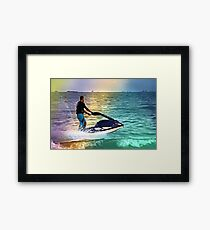Water Sports Framed Print