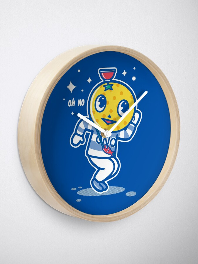 Alternate view of Beloved Mascot Clock