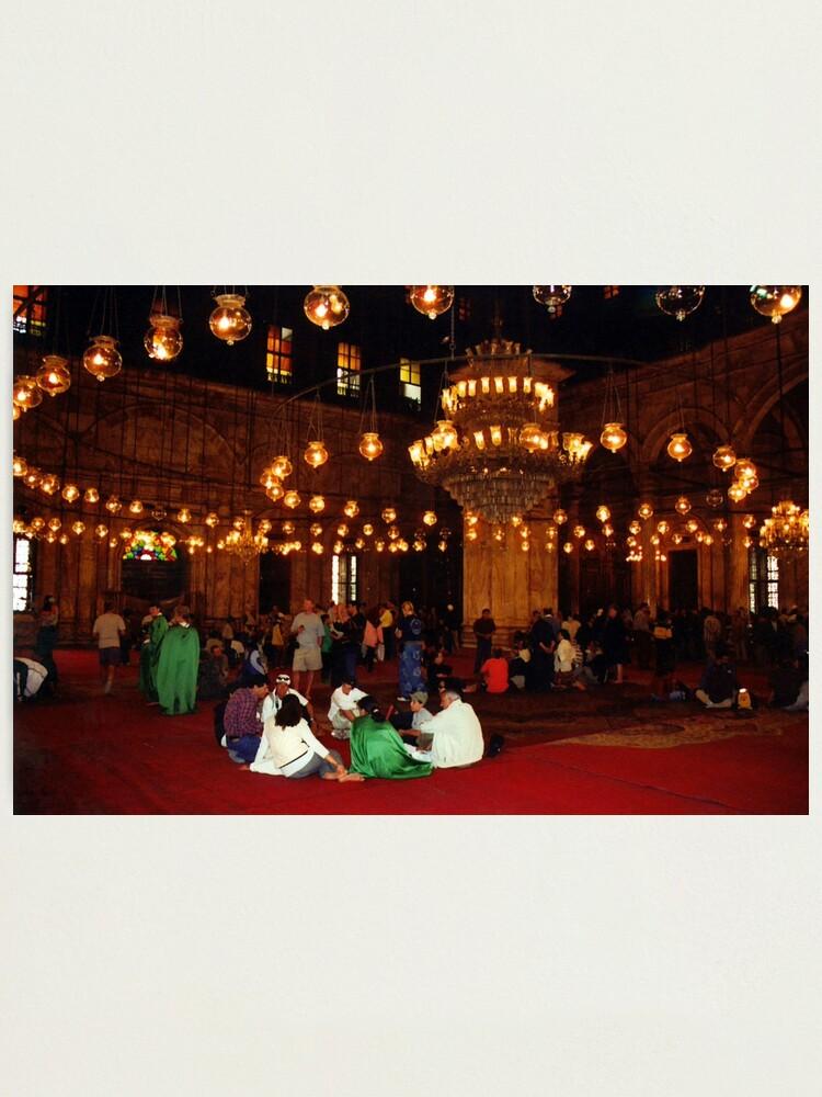 Alternate view of Mosque of Muhammad Ali (Interior) Photographic Print