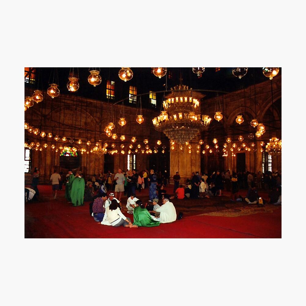 Mosque of Muhammad Ali (Interior) Photographic Print
