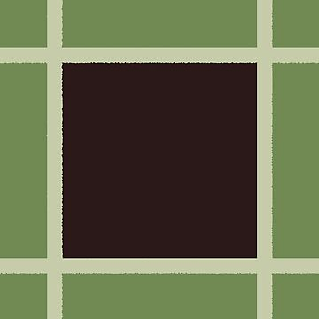 Sage green and brown geometry by hellcom