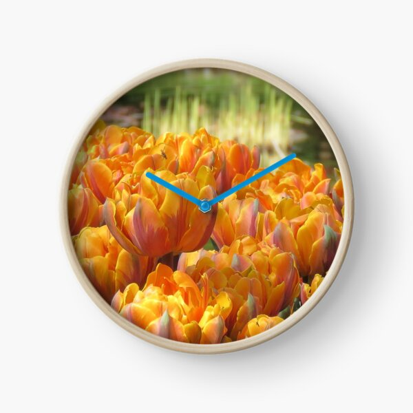 Les Tulipes Clock