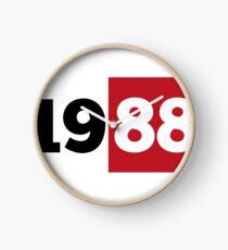 1988 Geburtsjahr  Uhr