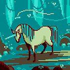 Unicorn Pixel Art by Sev4