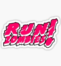 Run! Zombies! Sticker