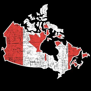 Map Canada Gift Christmas Country by tamerch
