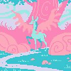 Mythical Creature Pixel Art by Sev4
