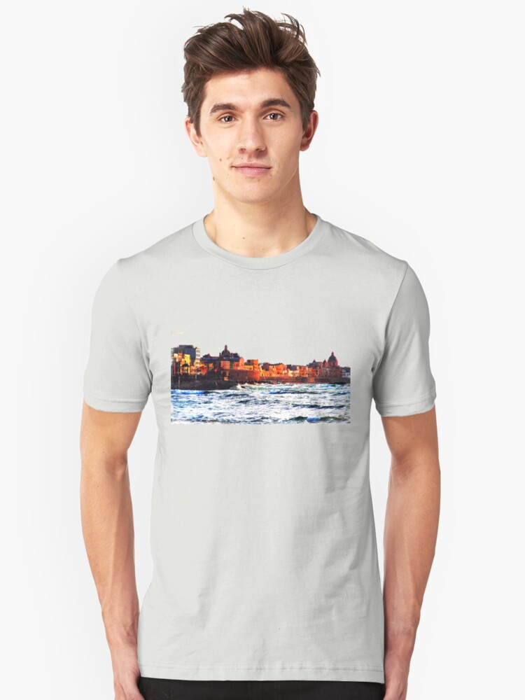 waterfront Unisex T-Shirt Front