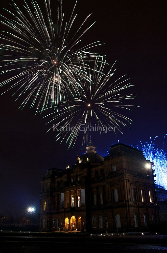 Fireworks at the Peoples Palace by Katie Grainger