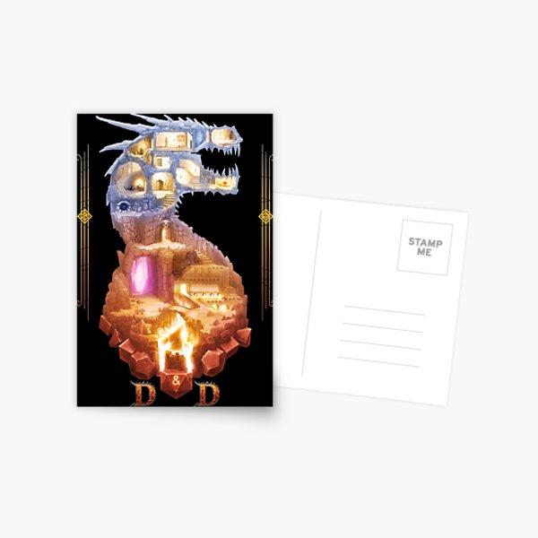 The Dragon Dungeon Postcard