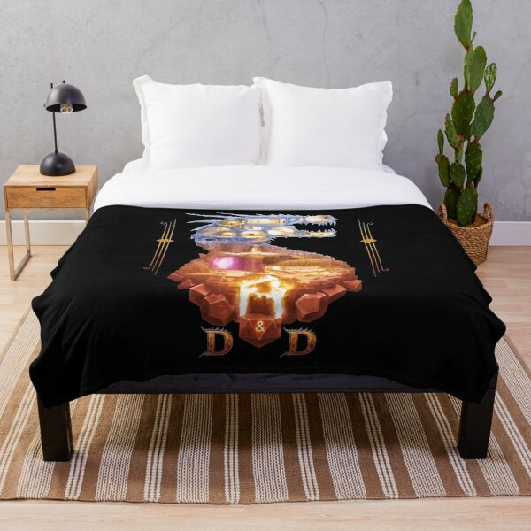 The Dragon Dungeon Throw Blanket