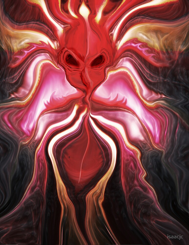 Fire Demon by isaacjc